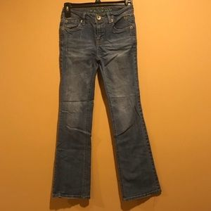 Girls Justice Medium Wash Flare Jeans